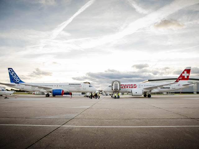 air-journal_Bombardier CS300 CS100 Swiss