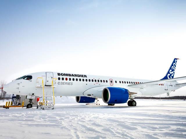 air-journal_Bombardier CS300 essais froid