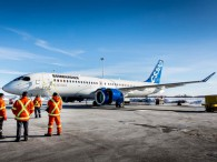 air-journal_Bombardier CS300 essais moteur