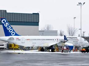 air-journal_Bombardier CS300 sol neige