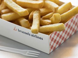 air-journal_Brussels Airlines frites