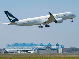 air-journal_Cathay Pacific A350-900 1er vol