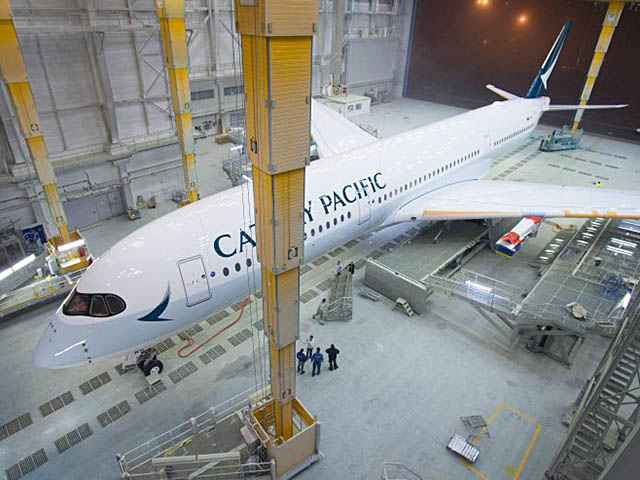 air-journal_Cathay Pacific A350-900 FAL livrée