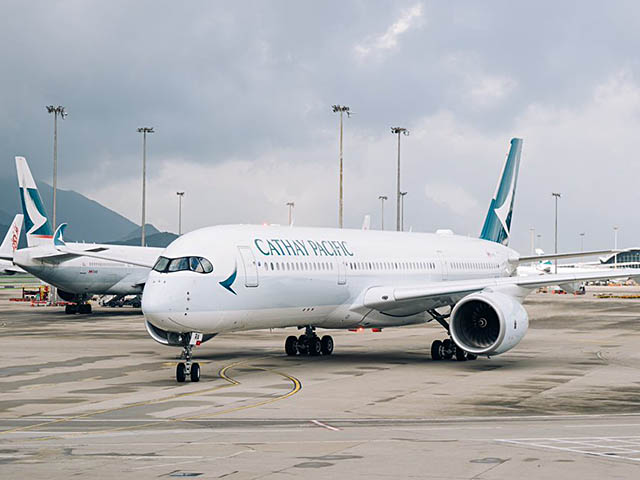 air-journal_Cathay Pacific A350-900 Hong Kong