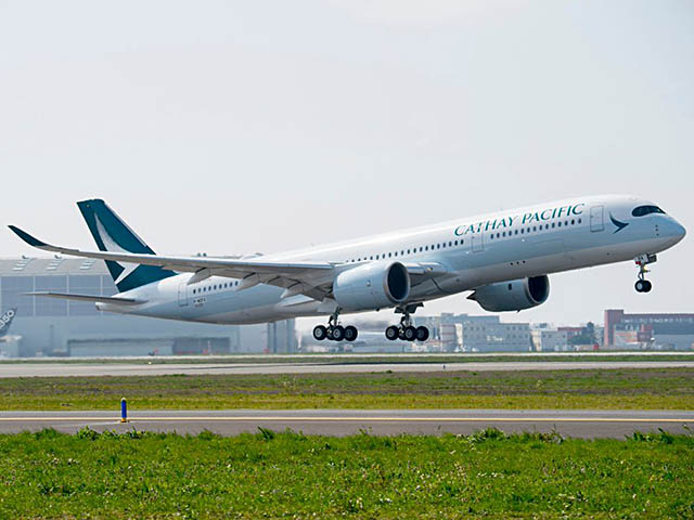 air-journal_Cathay Pacific A350-900 delivery