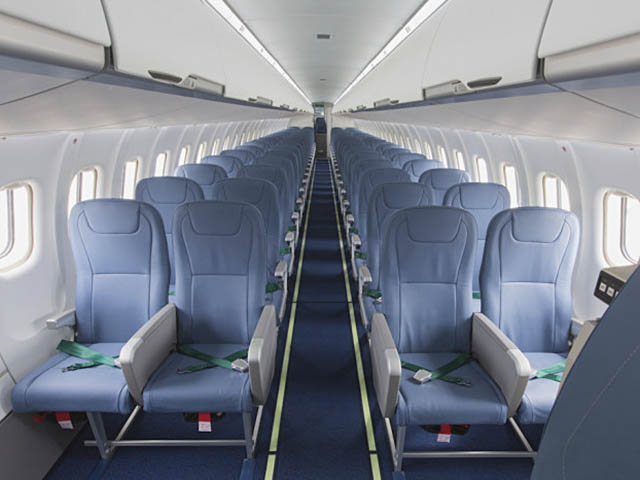 ATR 72-600 Cebu Pacific MSN 1362 cabin interior : ARMONIA cabin