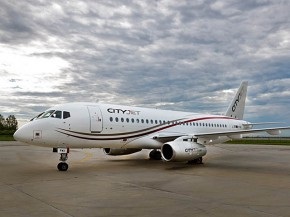 air-journal_CityJet SSJ100 1er