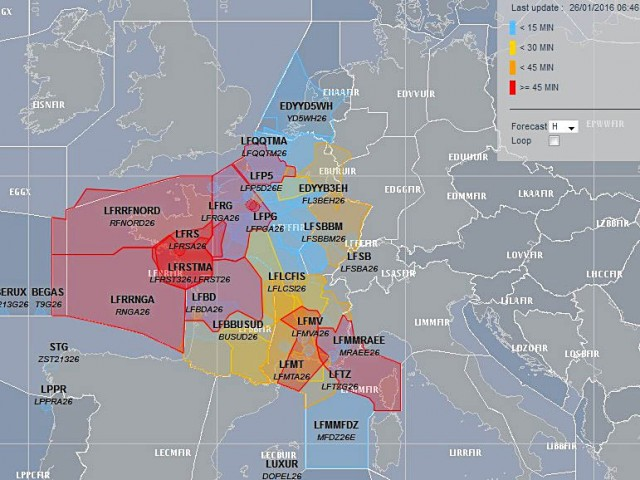 air-journal_Controle aérien retard 26 janvier@Eurocontrol
