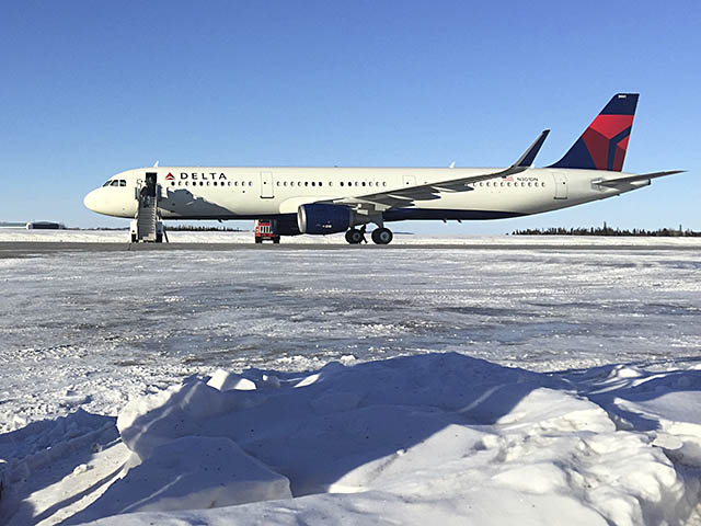 air-journal_Delta Air Lines A321 Goose Bay neige