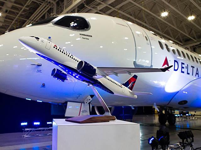 air-journal_Delta Air Lines CS100 pressconf
