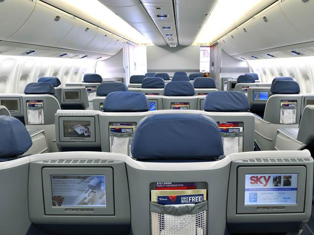 Delta Air Lines Des Si 232 Ges Lits Partout 224 L International