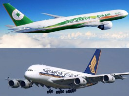 air-journal_EVA Air SIngapore Airlines