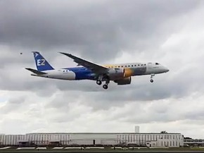 air-journal_Embraer E190-E2 firstflight