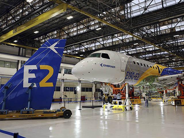 air-journal_Embraer E190-E2 usine