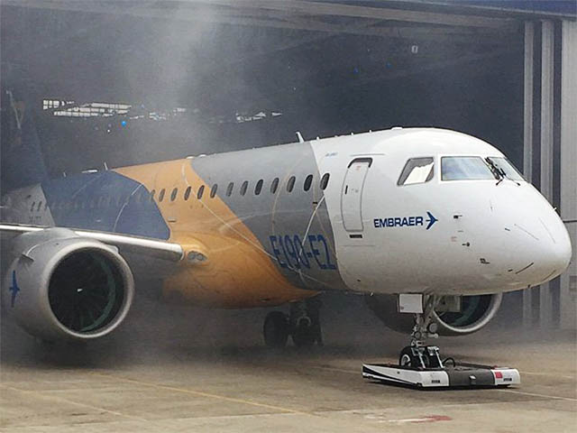 air-journal_Embraer E190-E2 rollout