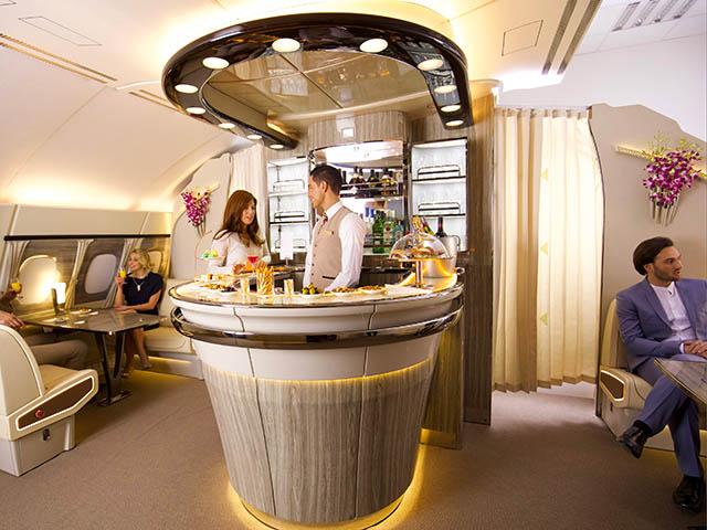 Un Nouveau Bar Pour Les Neuf Ans En A380 D Emirates