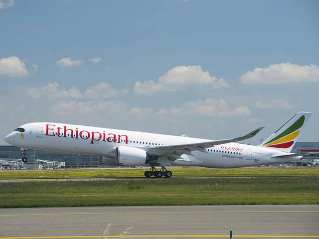 air-journal_Ethiopian Airlines A350-900 1er vol