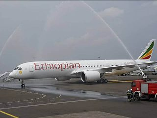 air-journal_Ethiopian Airlines A350-900 delivery Addis Abeba
