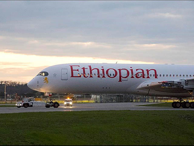 air-journal_Ethiopian Airlines A350-900 paint