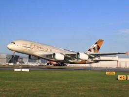 air-journal_Etihad A380 takeoff