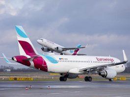 Eurowings ouvre trois lignes vers la Tunisie Air-journal_Eurowings-2-A320-265x199
