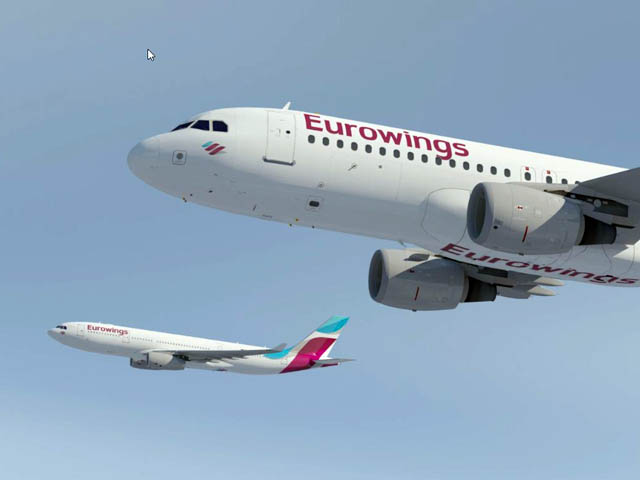 air journal Eurowings A330 A320 vol Eurowings se lance : 99,99 euros pour aller à Dubaï
