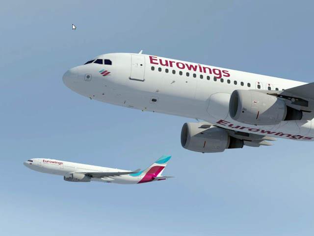Lufthanseat Nr. 1545 vom 05.12.14, Eurowings