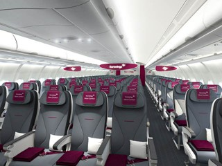 Neue Eurowings Sitze