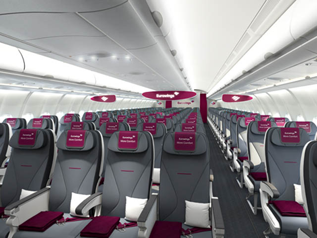 air journal Eurowings A330 More Comfort Eurowings se lance : 99,99 euros pour aller à Dubaï