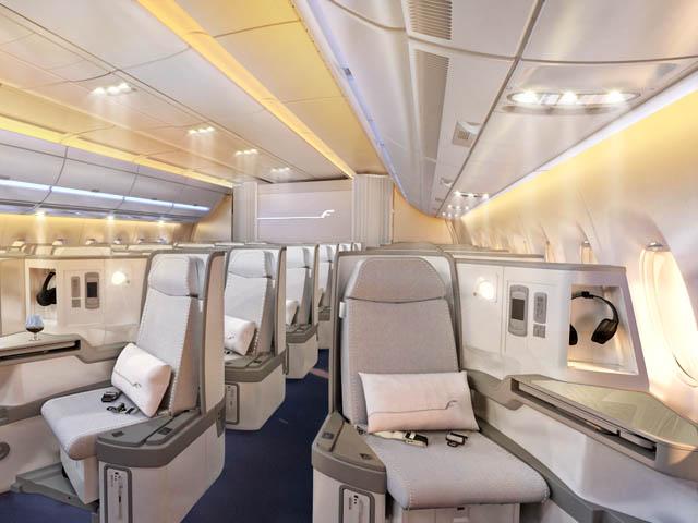 air-journal_Finnair A350 classe Affaires
