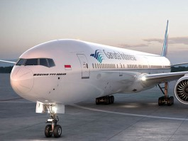 air-journal_Garuda Indonesia 777-300ER close