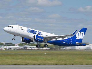 air-journal_GoAir A320neo takeoff