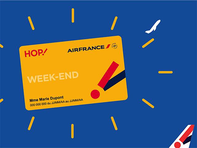 air france carte week end HOP! Air France : les lignes saisonnières vers la Corse avec la