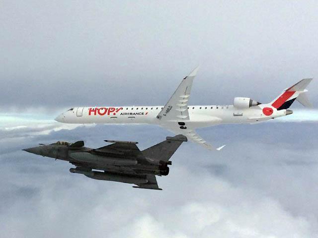 CRJ1000 with Rafale