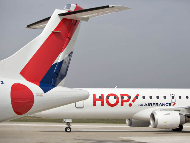 Hop air france renforce le marseille lille air journal for Air madagascar vol interieur horaire
