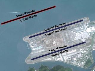 air-journal_Hong Kong aeroport 3e piste projet