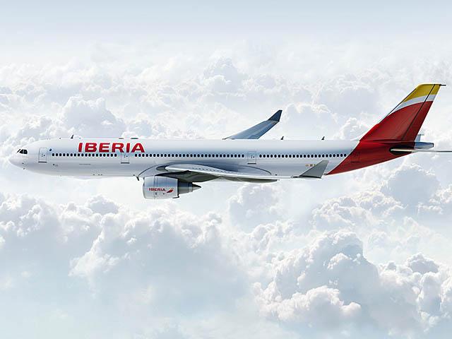 air-journal_Iberia A330 vol