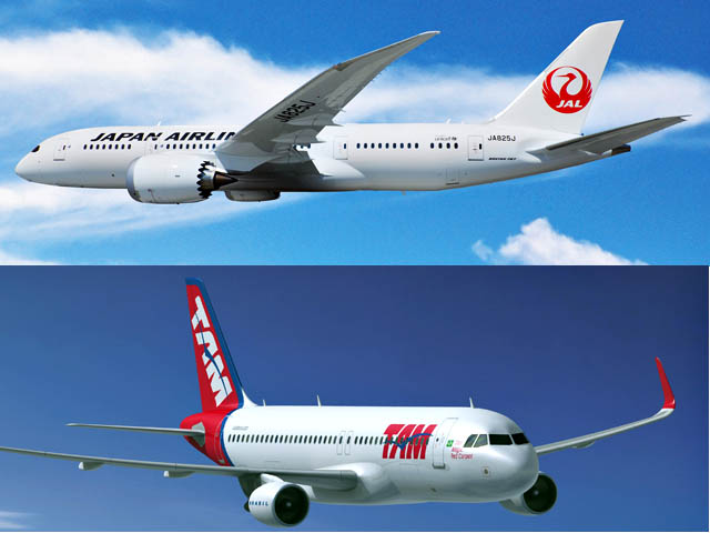 air-journal_Japan Airlines TAM Airlines