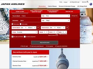 air-journal_Japan Airlines nouveau site