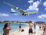 air-journal_KLM 747-400 Saint Martin