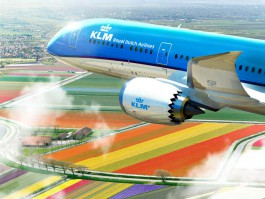 air-journal_KLM 787-9 tulipes