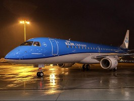air-journal_KLM Cityhopper E190 nuit