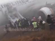 air-journal_Katmandou Turkish Airlines sortie de piste