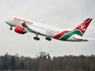 air-journal_Kenya Airways 787 takeoff