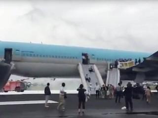 air-journal_Korean Air incendie Tokyo2