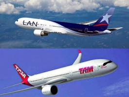 air-journal_LAN Airlines TAM Brazilian