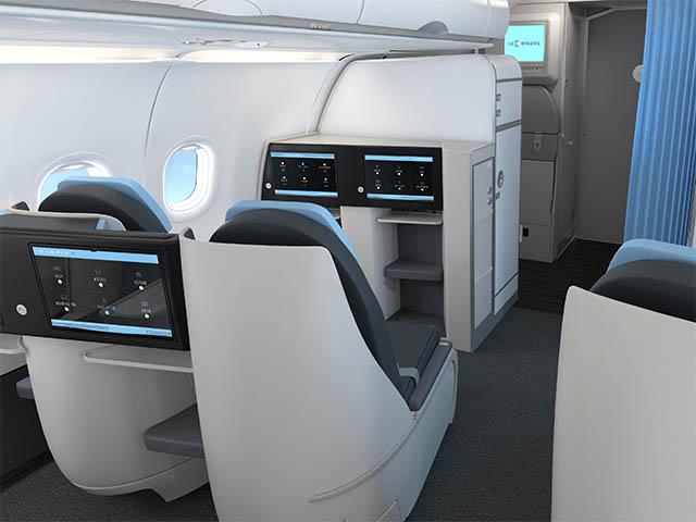 la compagnie pr sente ses a321neo tout affaires air journal. Black Bedroom Furniture Sets. Home Design Ideas