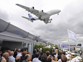 air-journal_Le Bourget 2009 Airbus A380