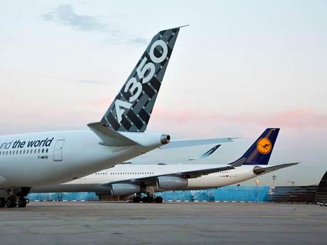 air-journal_Lufthansa A350 Francfort