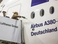 air-journal_Lufthansa A380 Merkel